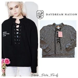 Daydream Nation Soft Sweater Terry Dream Pullover